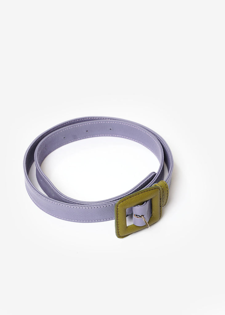 Paloma Wool Purple/Green Centauro Belt — New Classics Studios