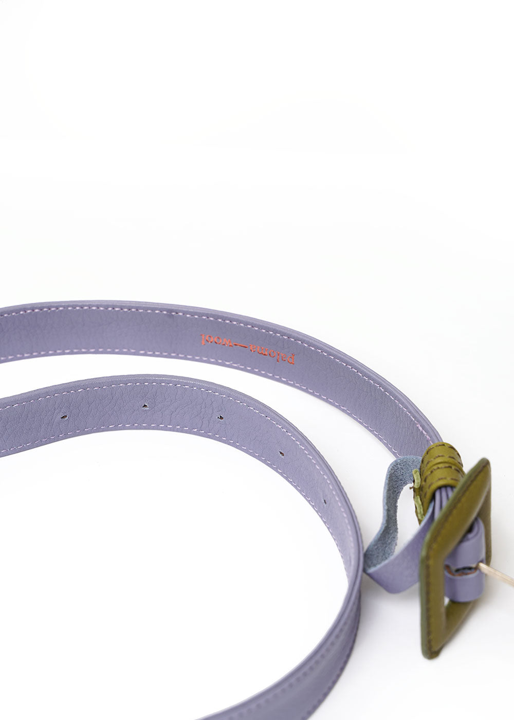 Paloma Wool Purple/Green Centauro Belt — Shop sustainable fashion and slow fashion at New Classics Studios