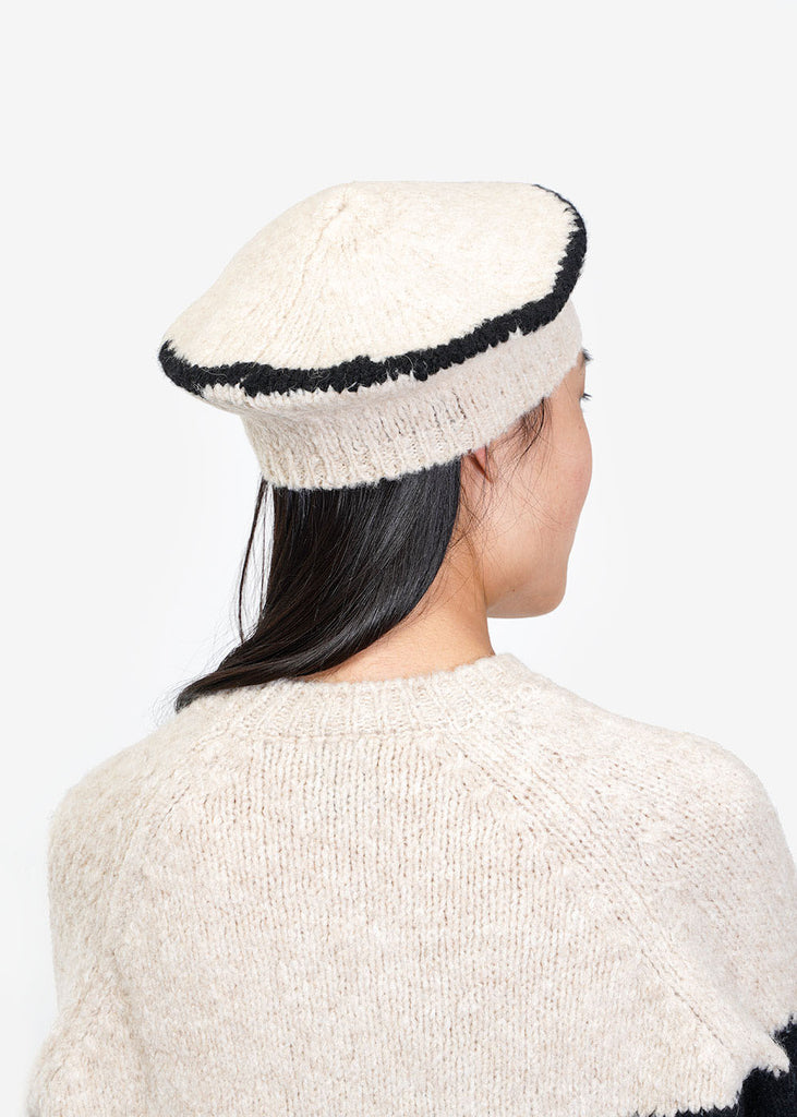 Paloma Wool Cream Tere Beret — Shop sustainable fashion and slow fashion at New Classics Studios
