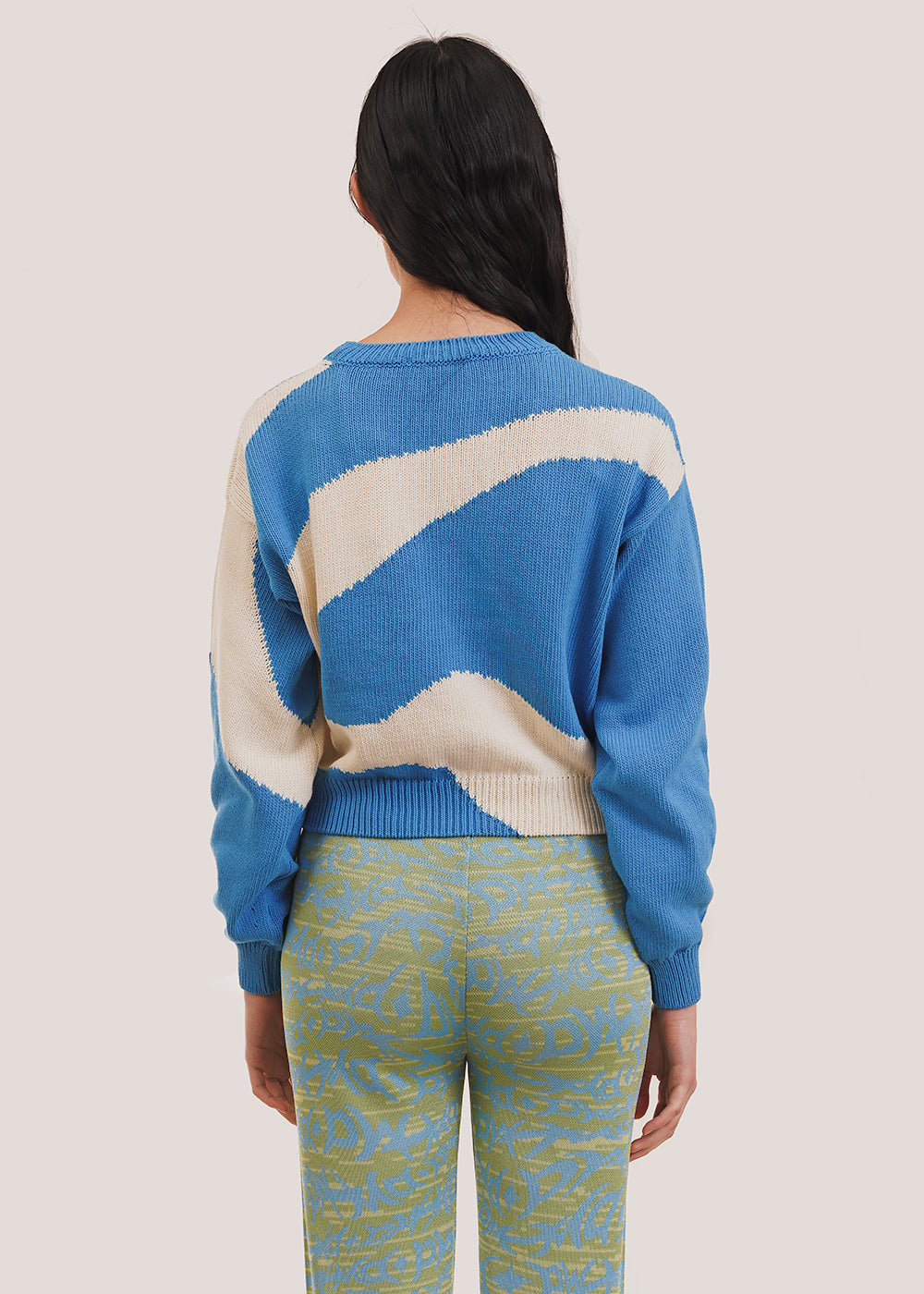 Blue Pin Sweater