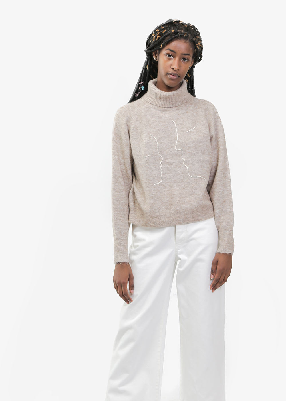 Paloma Wool Éter Turtleneck Sweater — New Classics Studios