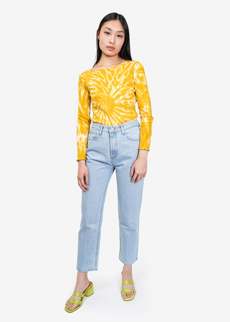 Paloma Wool Yellow Flor Shirt — New Classics Studios