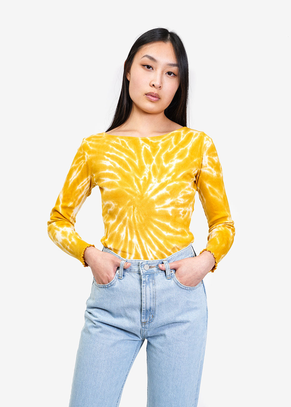 Paloma Wool Yellow Flor Shirt — Shop sustainable fashion and slow fashion at New Classics Studios