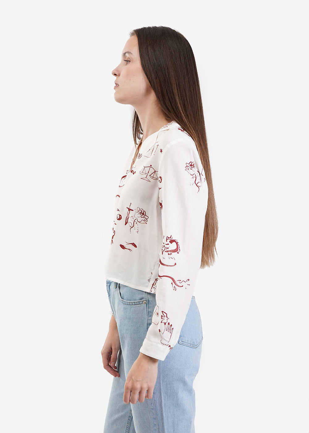 Paloma Wool Tarot Blouse — Shop sustainable fashion and slow fashion at New Classics Studios
