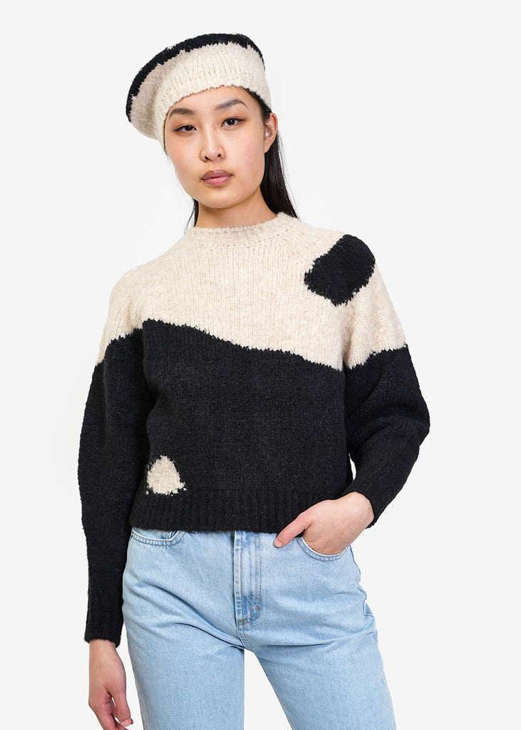 Paloma Wool Black Yin Yang Sweater — New Classics Studios