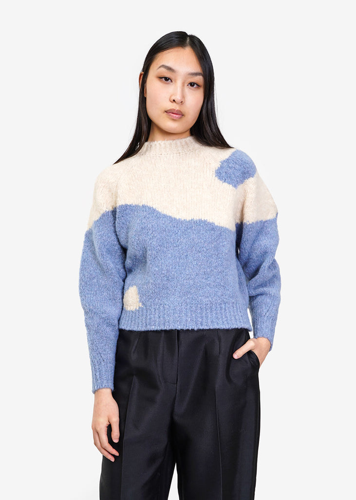 Paloma Wool Blue Yin Yang Sweater — New Classics Studios
