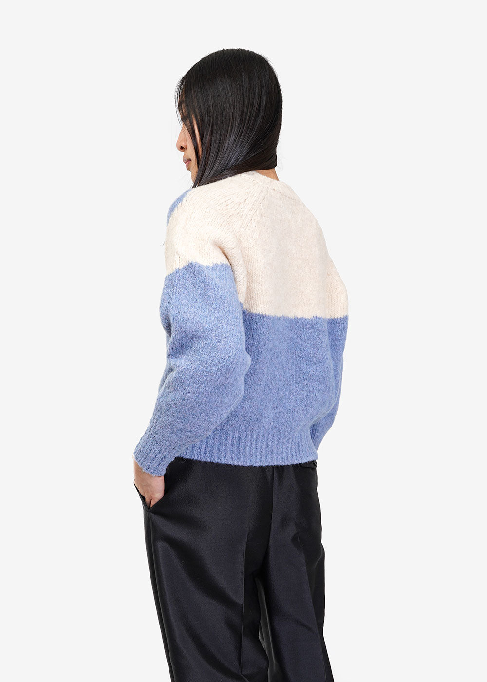 Paloma Wool Blue Yin Yang Sweater — Shop sustainable, slow and ethical fashion at New Classics Studios