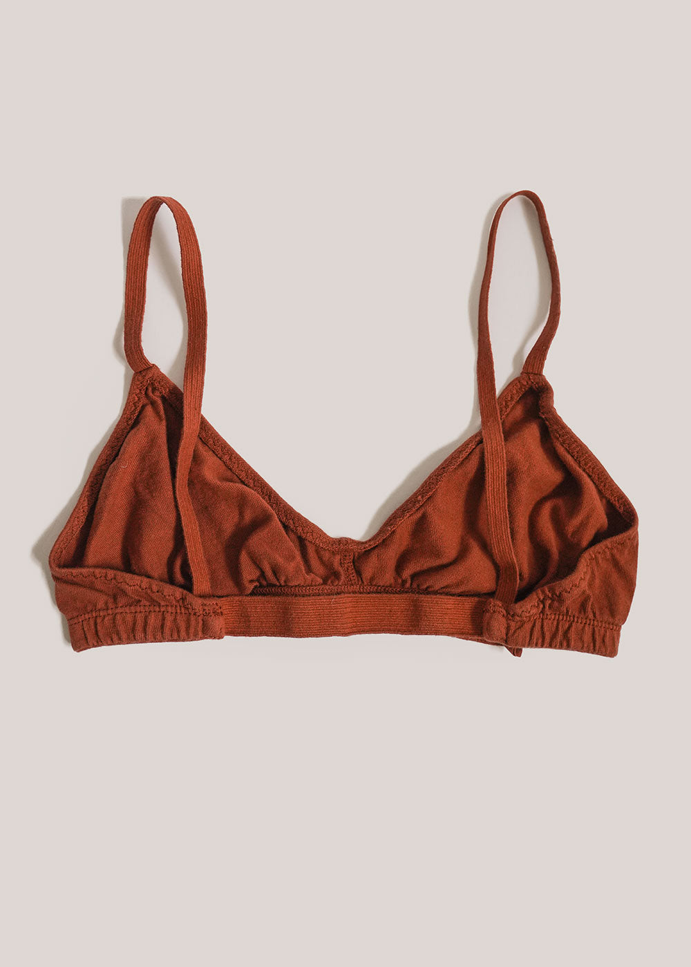 Pansy Rust Bra — Shop sustainable fashion and slow fashion at New Classics Studios