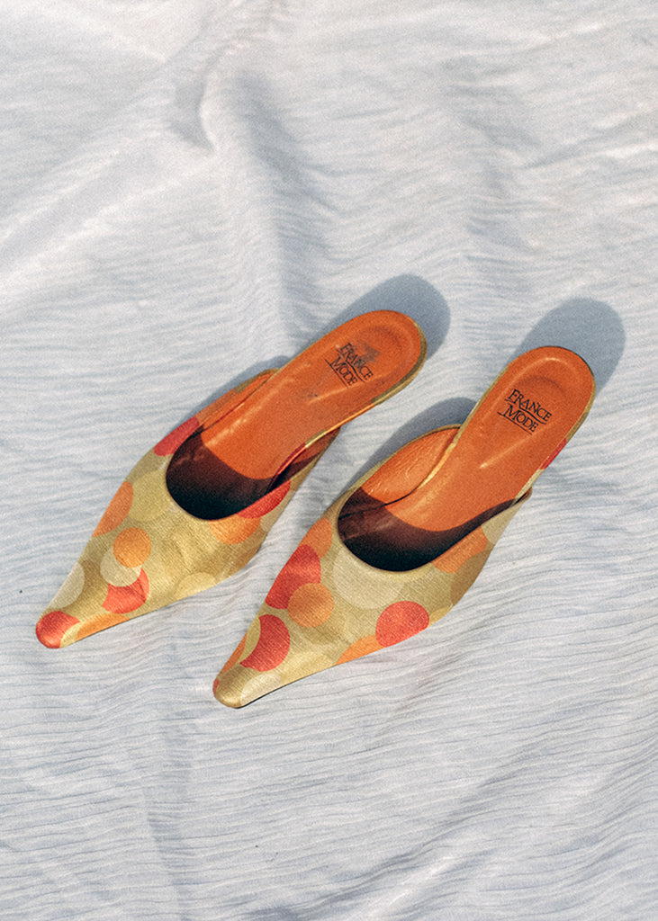 Pre by New Classics Vintage Retro Pointed Kitten Mules — New Classics Studios