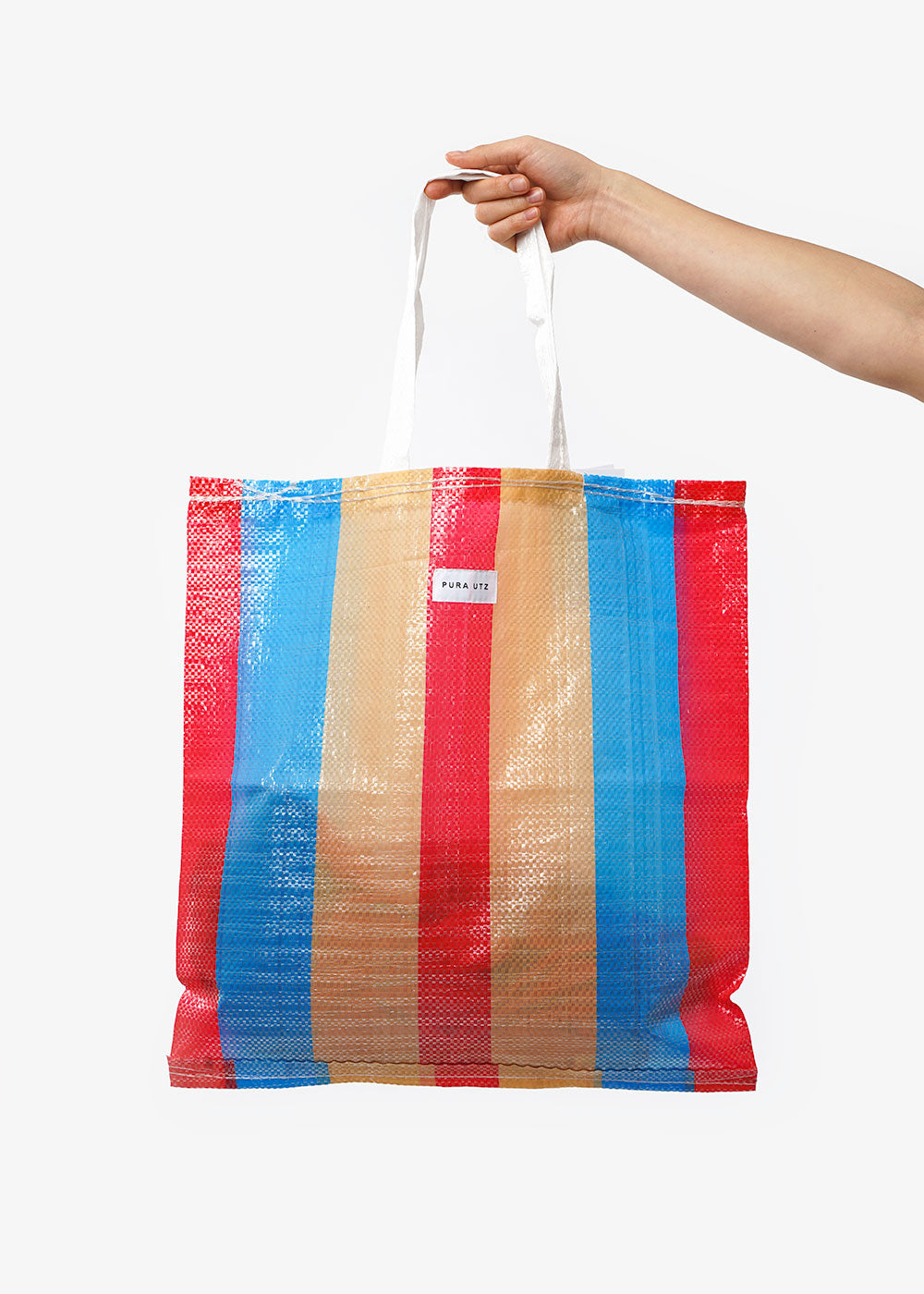 Pura Utz Mixed Colour Large Plastic Tote — Shop sustainable fashion and slow fashion at New Classics Studios
