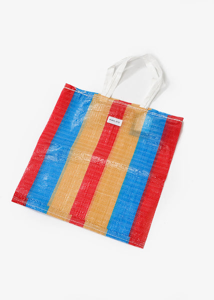 Mixed Colour Large Plastic Tote