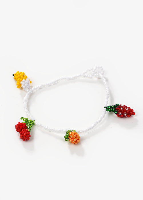 Fruit Salad Beaded Bracelet