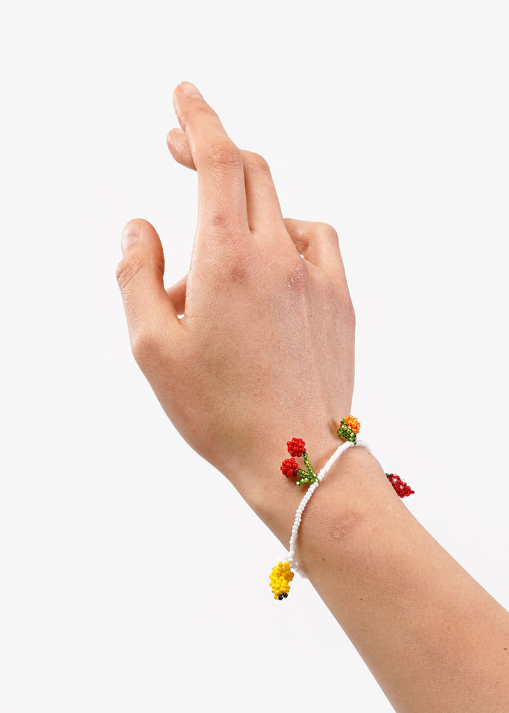 Pura Utz Fruit Salad Beaded Bracelet — Shop sustainable fashion and slow fashion at New Classics Studios