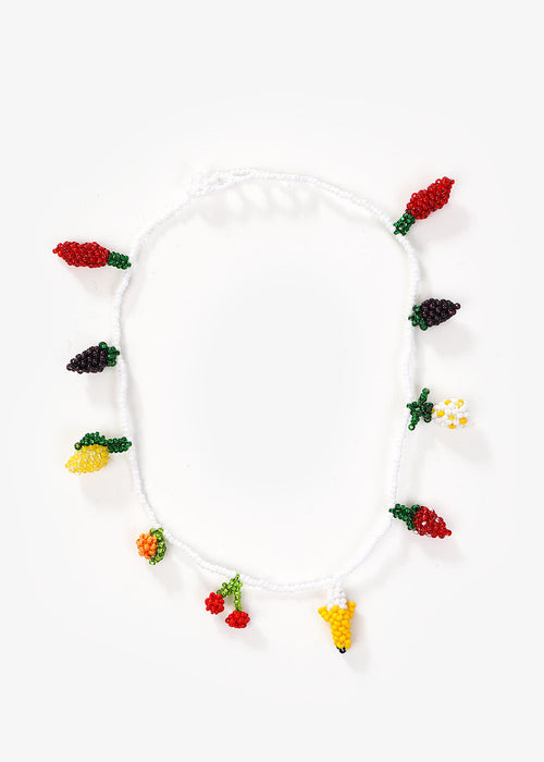 Fruit Salad Beaded Choker