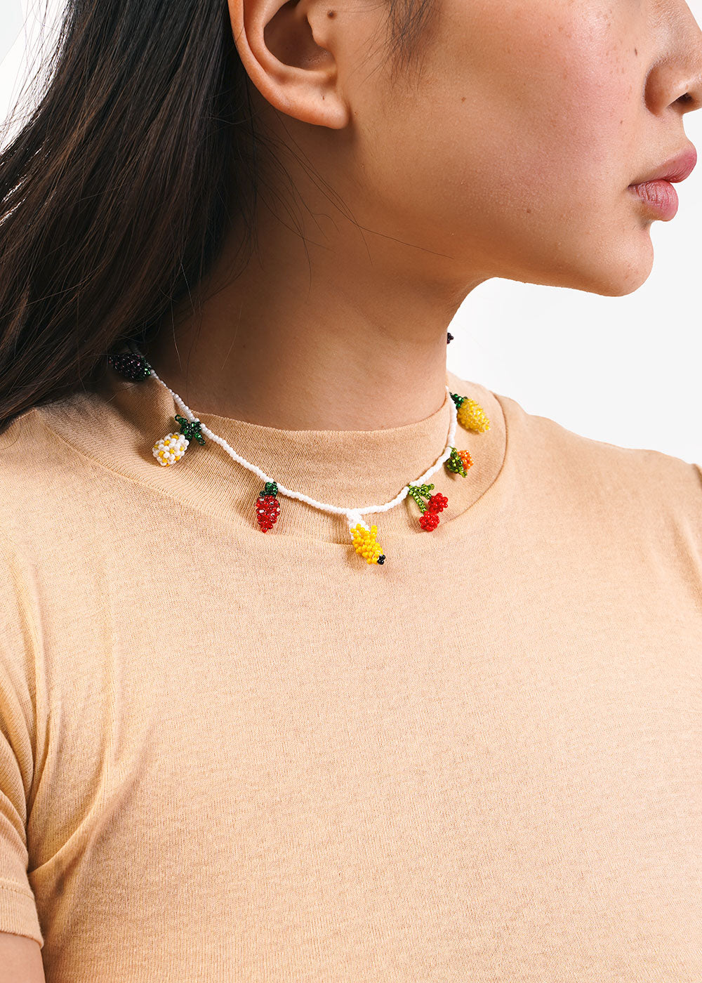 Pura Utz Fruit Salad Beaded Choker — New Classics Studios