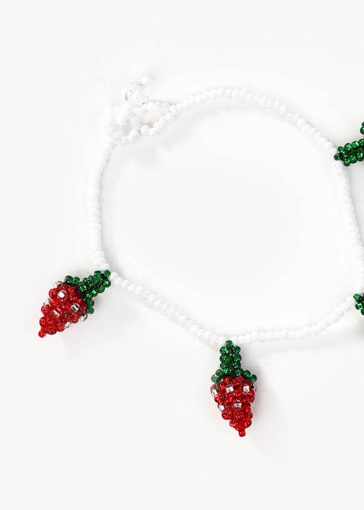 Strawberry Beaded Bracelet - New Classics Studios