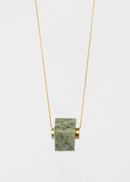 Stable State Laurel Erode Stone Necklace — New Classics Studios