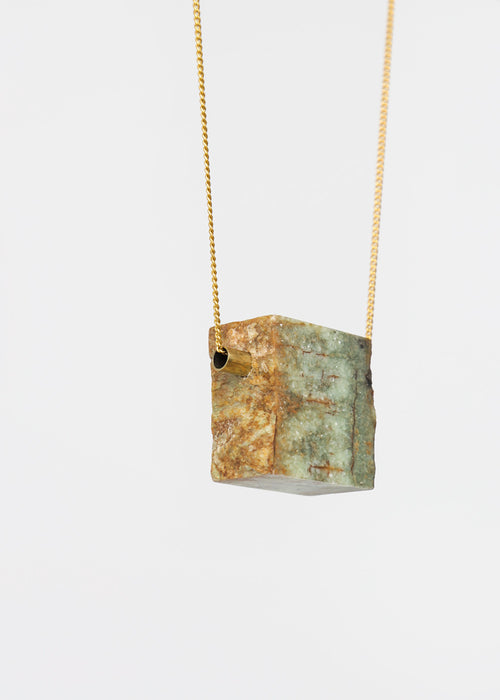 Stable State Rough Erode Stone Necklace — New Classics Studios