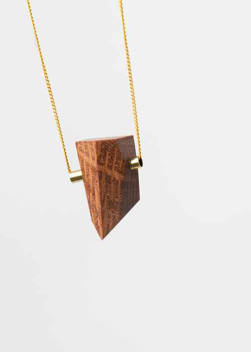 Stable State Lace Wood Maderite Necklace — New Classics Studios