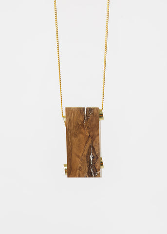 Oak Maderite Wood Necklace