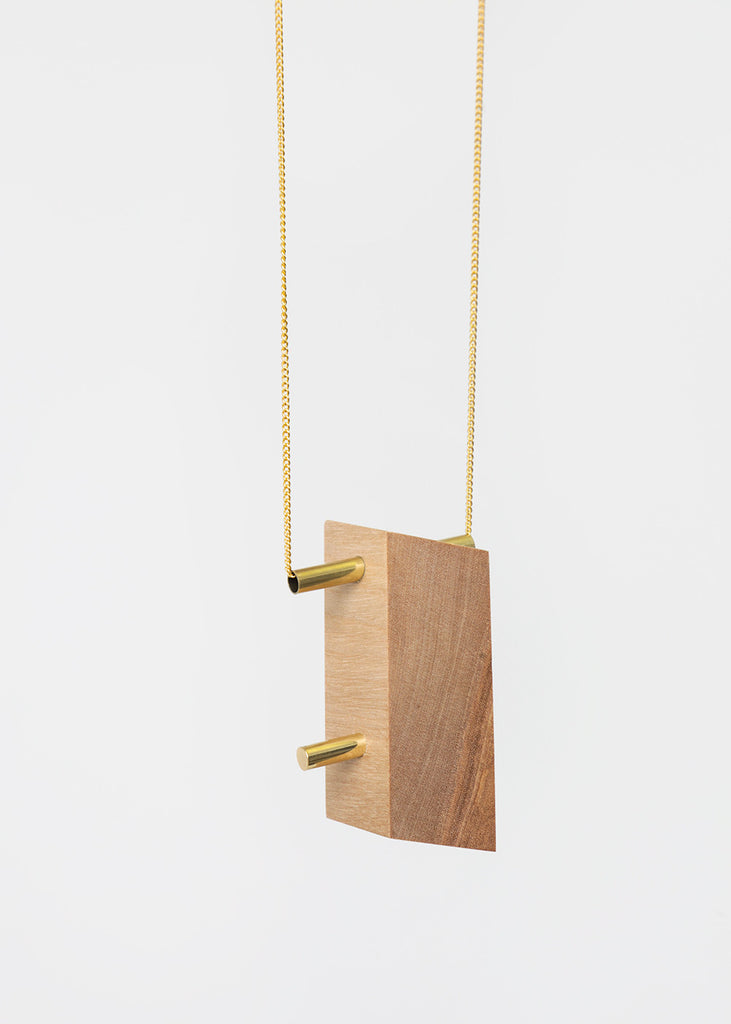 Stable State Maple Maderite Wood Necklace — Shop sustainable fashion and slow fashion at New Classics Studios