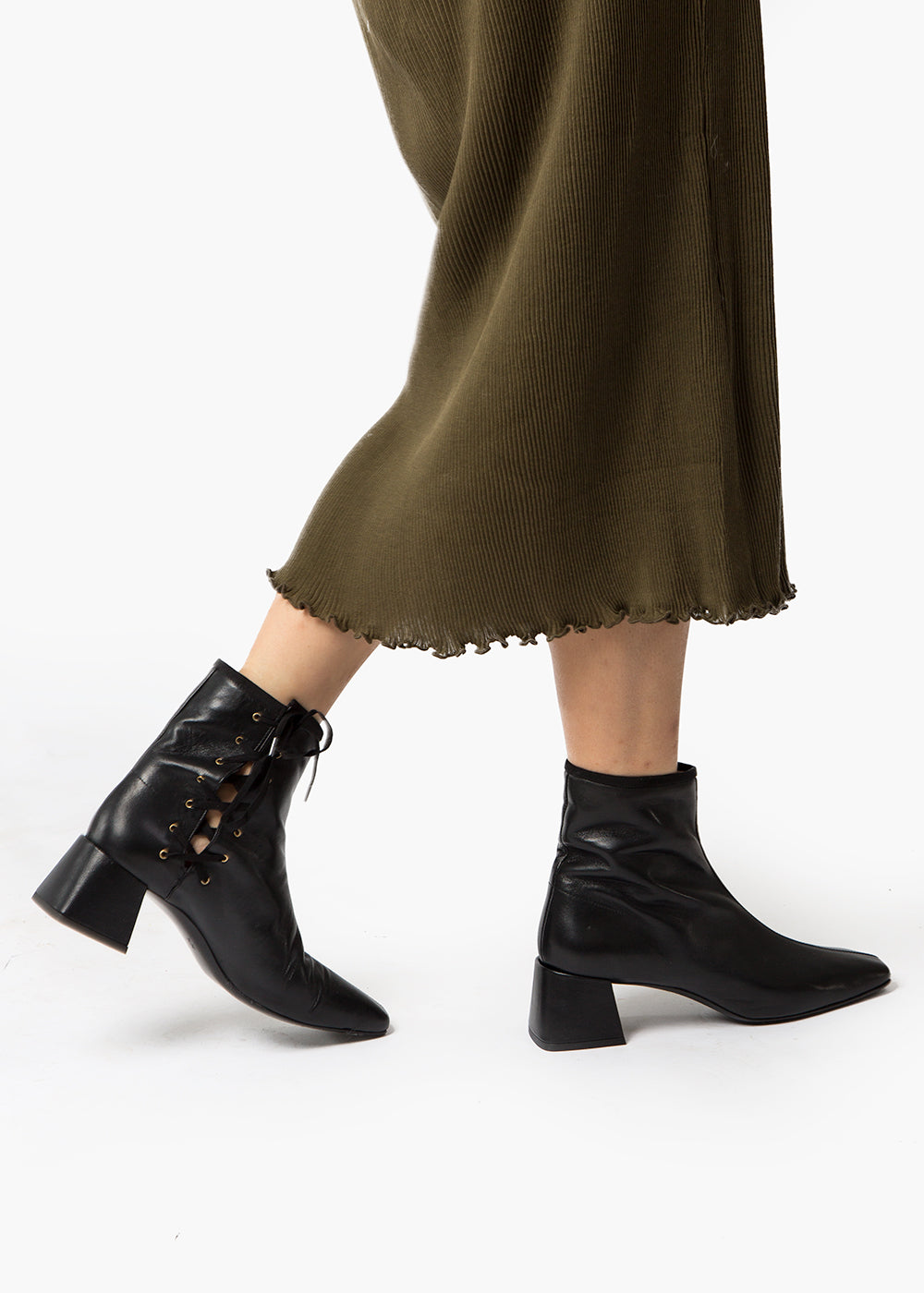 Suzanne Rae Black Lady Boots — New Classics Studios