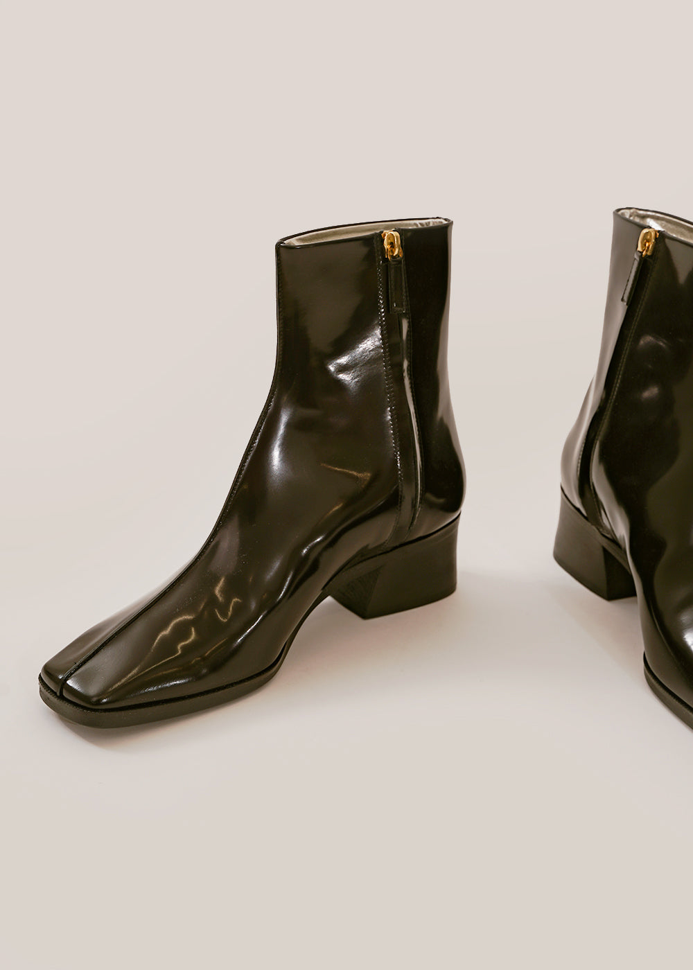 Suzanne Rae Black Welt Sole Boot — Shop sustainable fashion and slow fashion at New Classics Studios