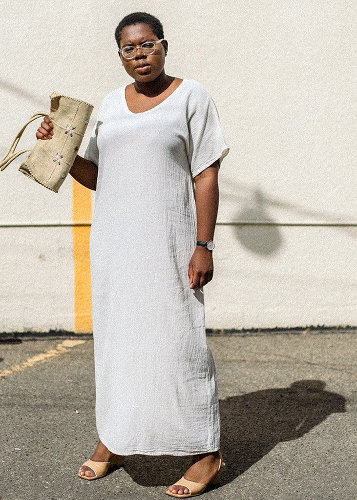 Pre by New Classics Vintage Linen T-Shirt Dress — Shop sustainable fashion and slow fashion at New Classics Studios
