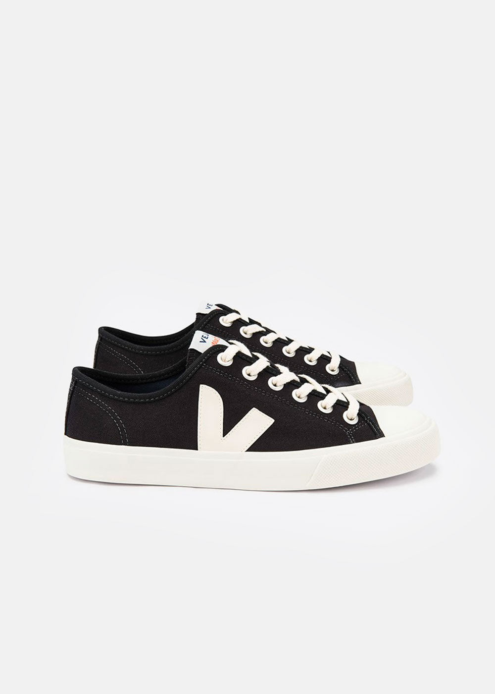 Veja Black Pierre Wata Canvas Sneaker — Shop sustainable fashion and slow fashion at New Classics Studios