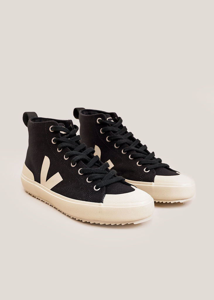 Black Pierre Nova HT Sneakers