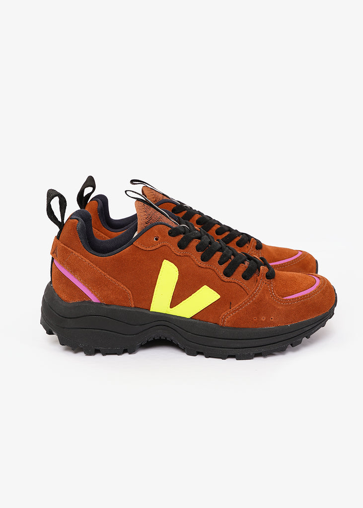 Veja Jaune Fluo Venturi Sneakers — Shop sustainable fashion and slow fashion at New Classics Studios
