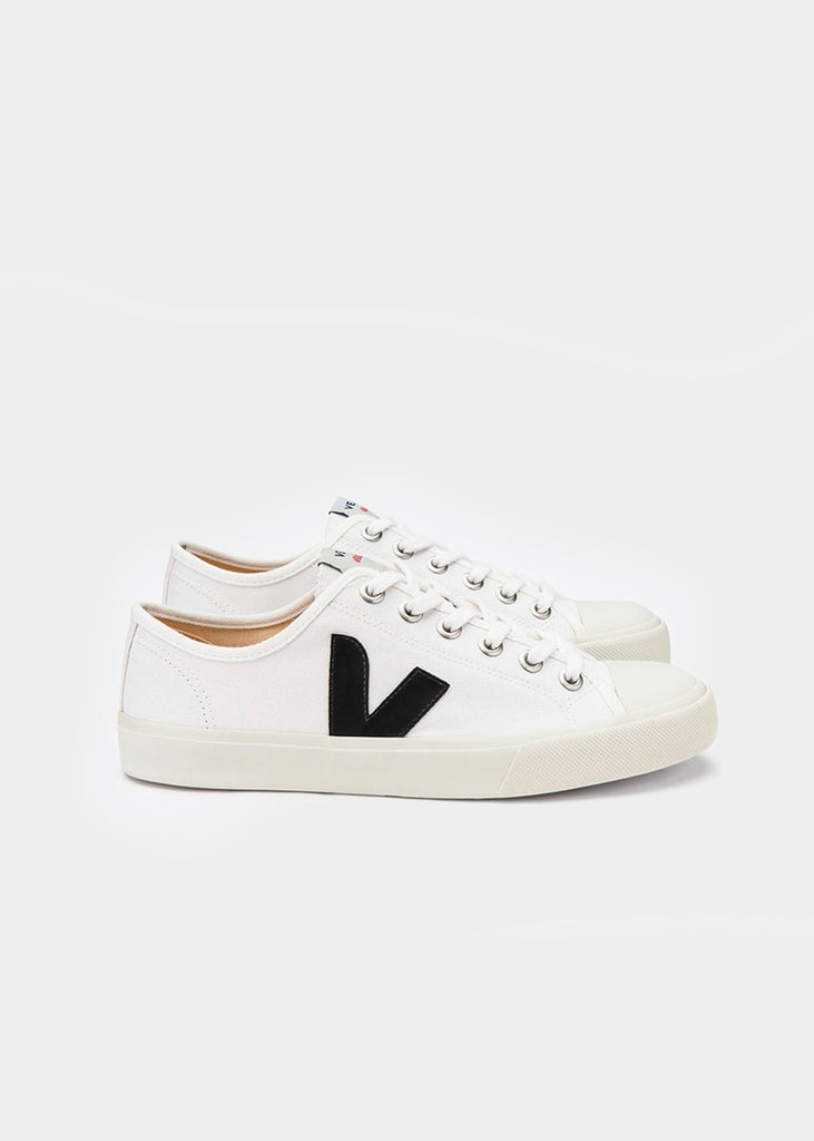 White Black Wata Canvas Sneaker