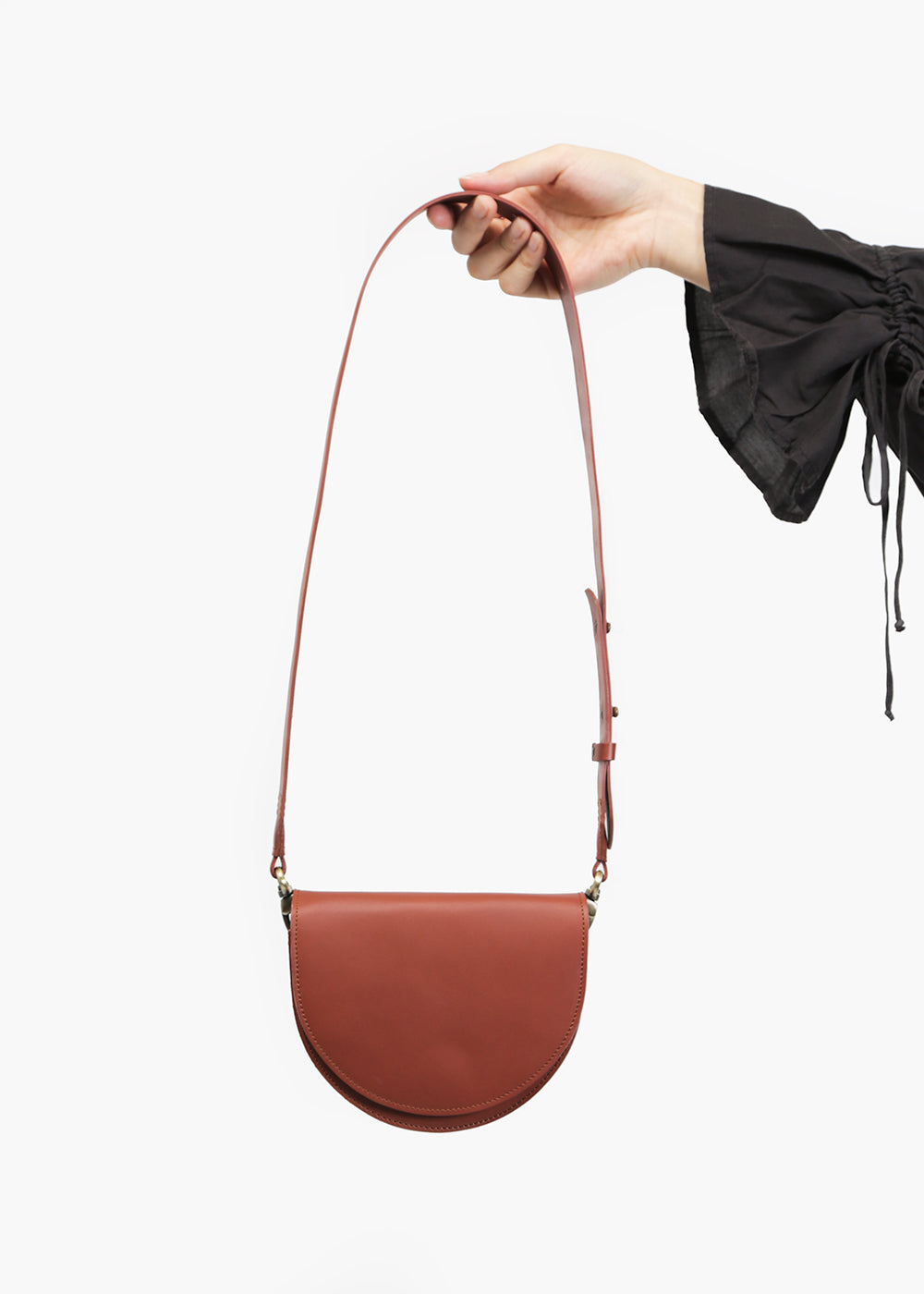 VereVerto Luna Bag in Brown — New Classics Studios
