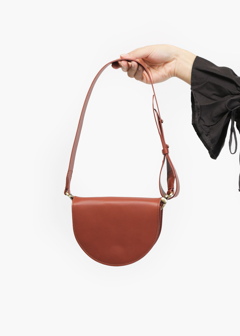 VereVerto Luna Bag in Brown — Shop sustainable fashion and slow fashion at New Classics Studios