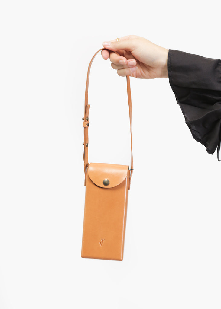 VereVerto Porta Bag in Honey — Shop sustainable fashion and slow fashion at New Classics Studios