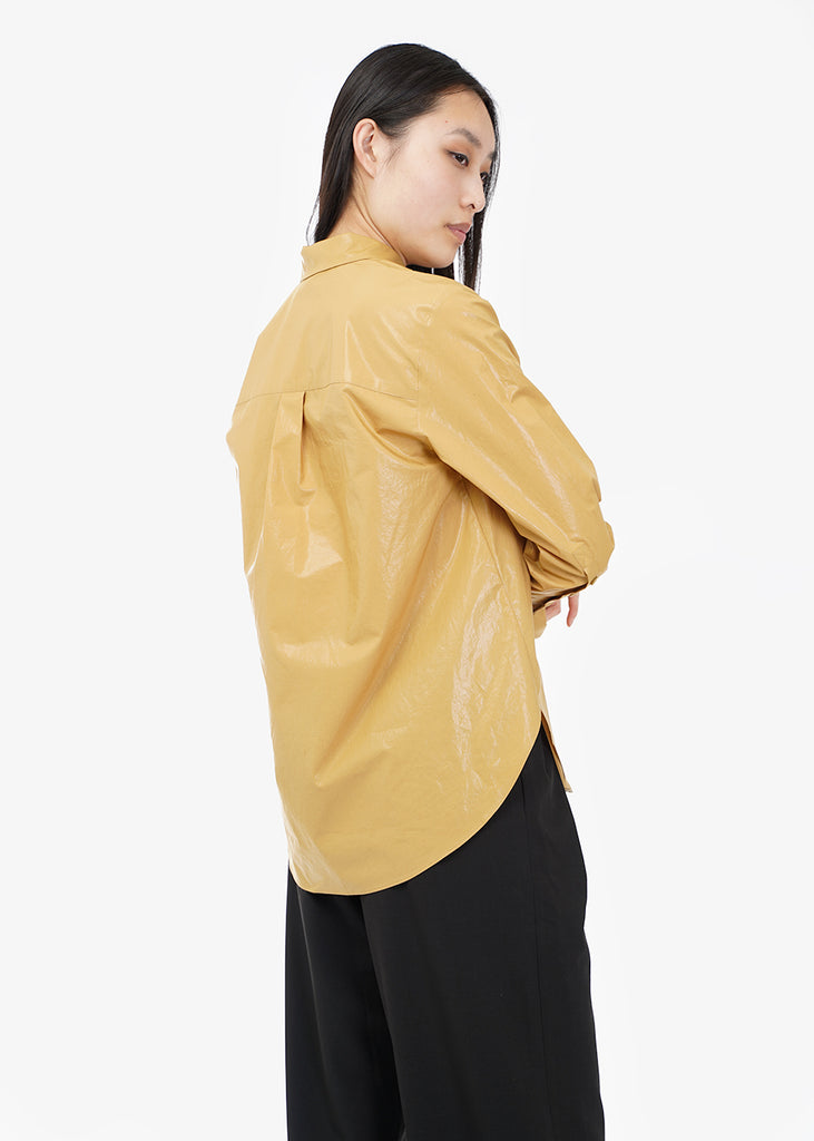 WNDERKAMMER Glossy Basic Shirt — Shop sustainable fashion and slow fashion at New Classics Studios