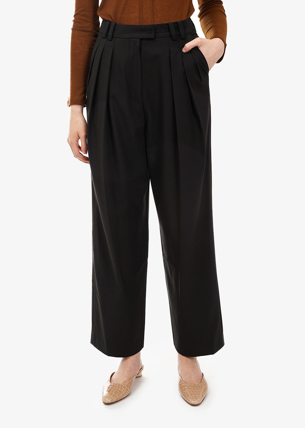 Zigzag Wide Trousers - New Classics Studios
