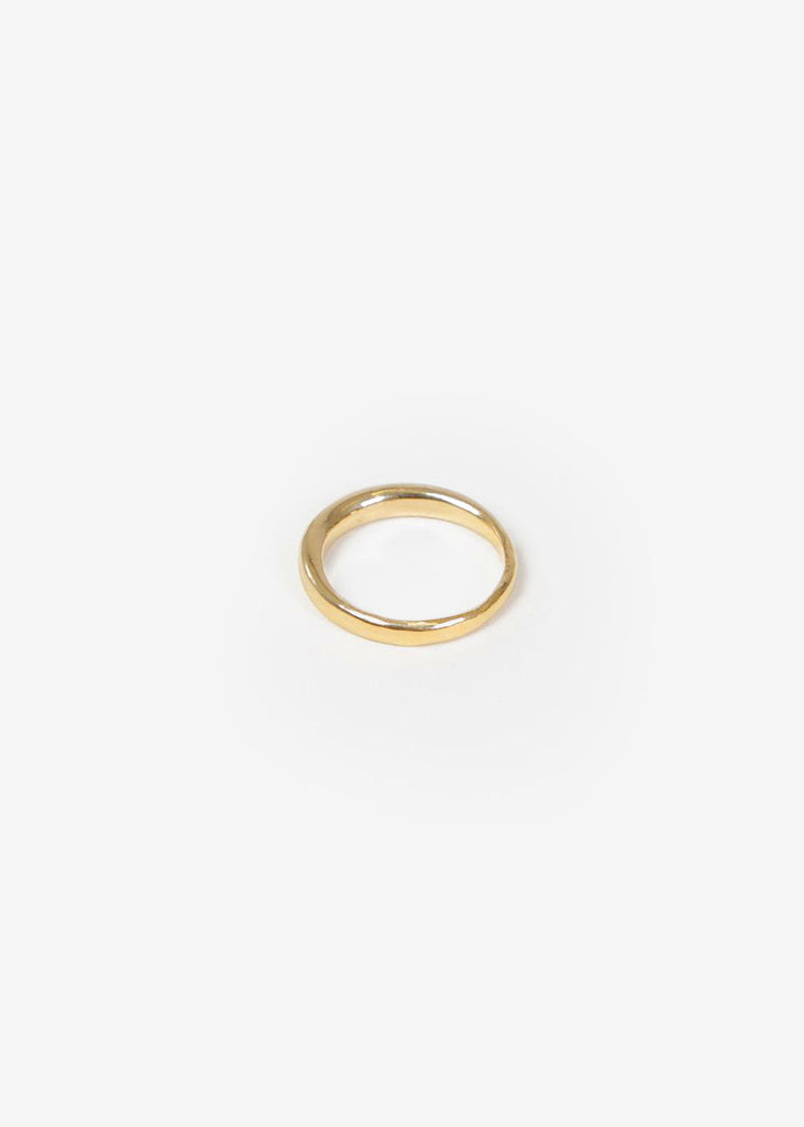 Wolf Circus Gold Emeile Ring — New Classics Studios