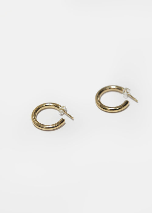 Gold Gia Hoops