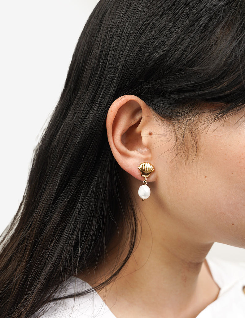 Wolf Circus Marcel Pearl Studs — Shop sustainable fashion and slow fashion at New Classics Studios
