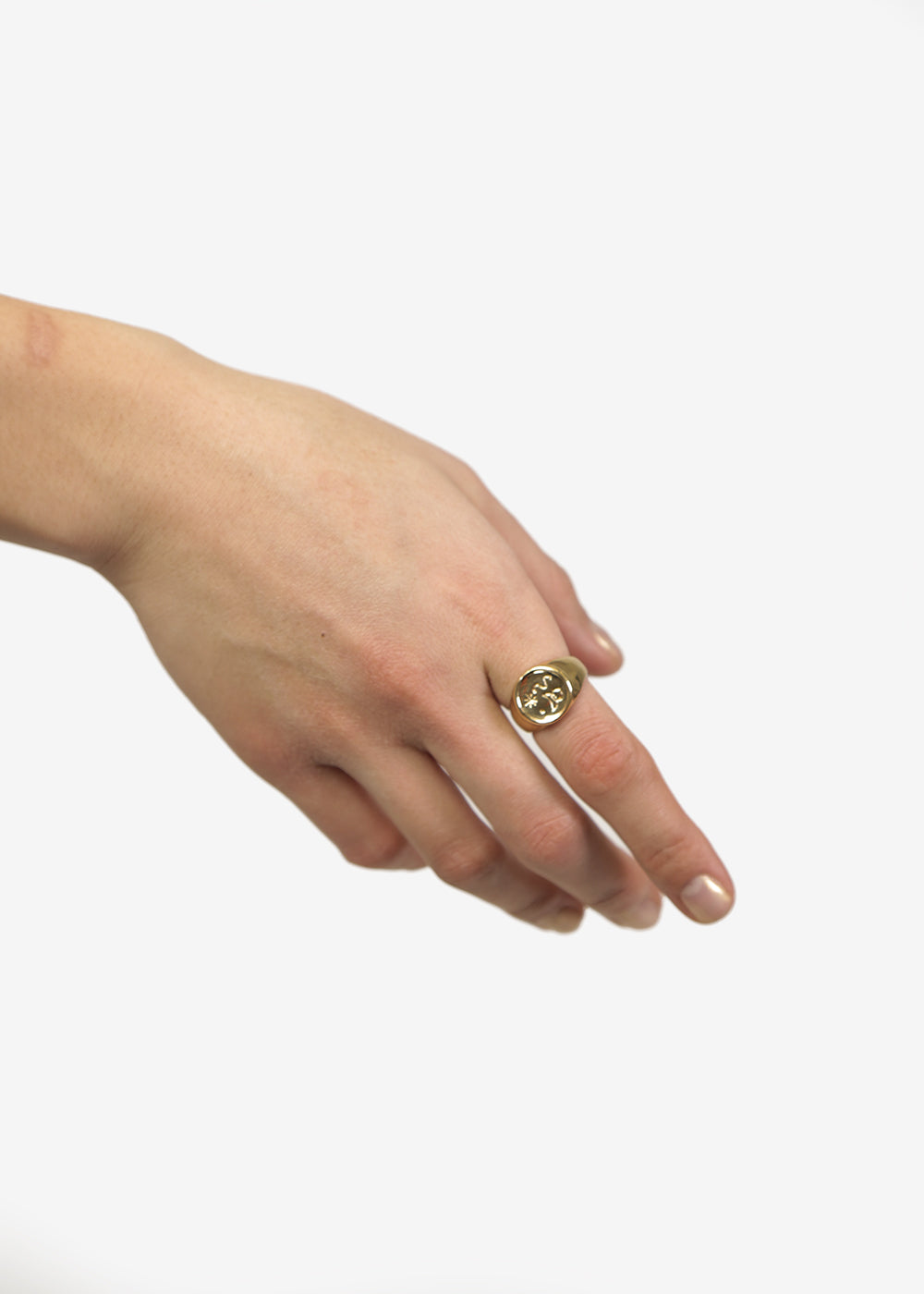 Wolf Circus Miro Signet Ring — Shop sustainable fashion and slow fashion at New Classics Studios
