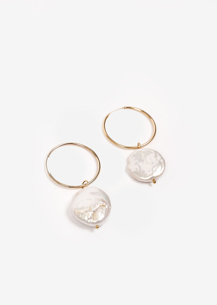 Wolf Circus Pearl Hoop Earrings — New Classics Studios