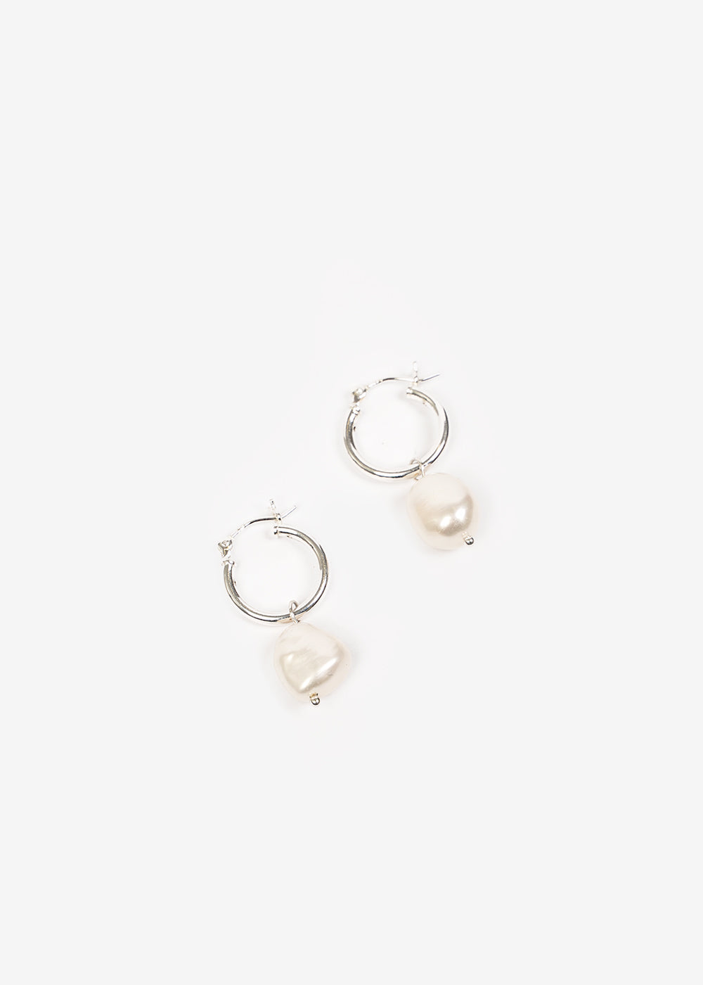Wolf Circus Small Pearl Hoops — New Classics Studios