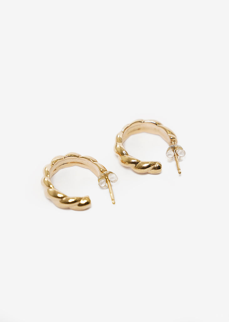 Wolf Circus Sadie Hoops — Shop sustainable fashion and slow fashion at New Classics Studios