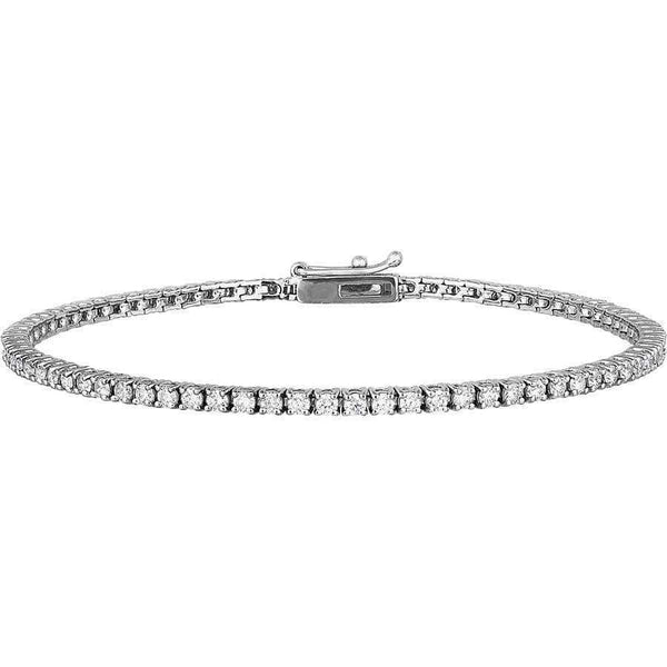 2.00ct Diamond Tennis Bracelet in 18ct White Gold Tennis Bracelets
