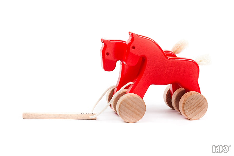 Wooden Galloping /Jumping Horses Toy