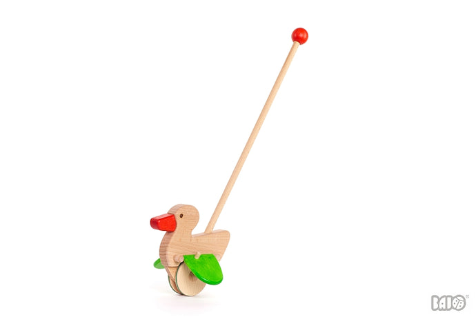 Wooden Duck Push Toy