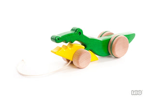 Wooden Crocodile Pull Toy