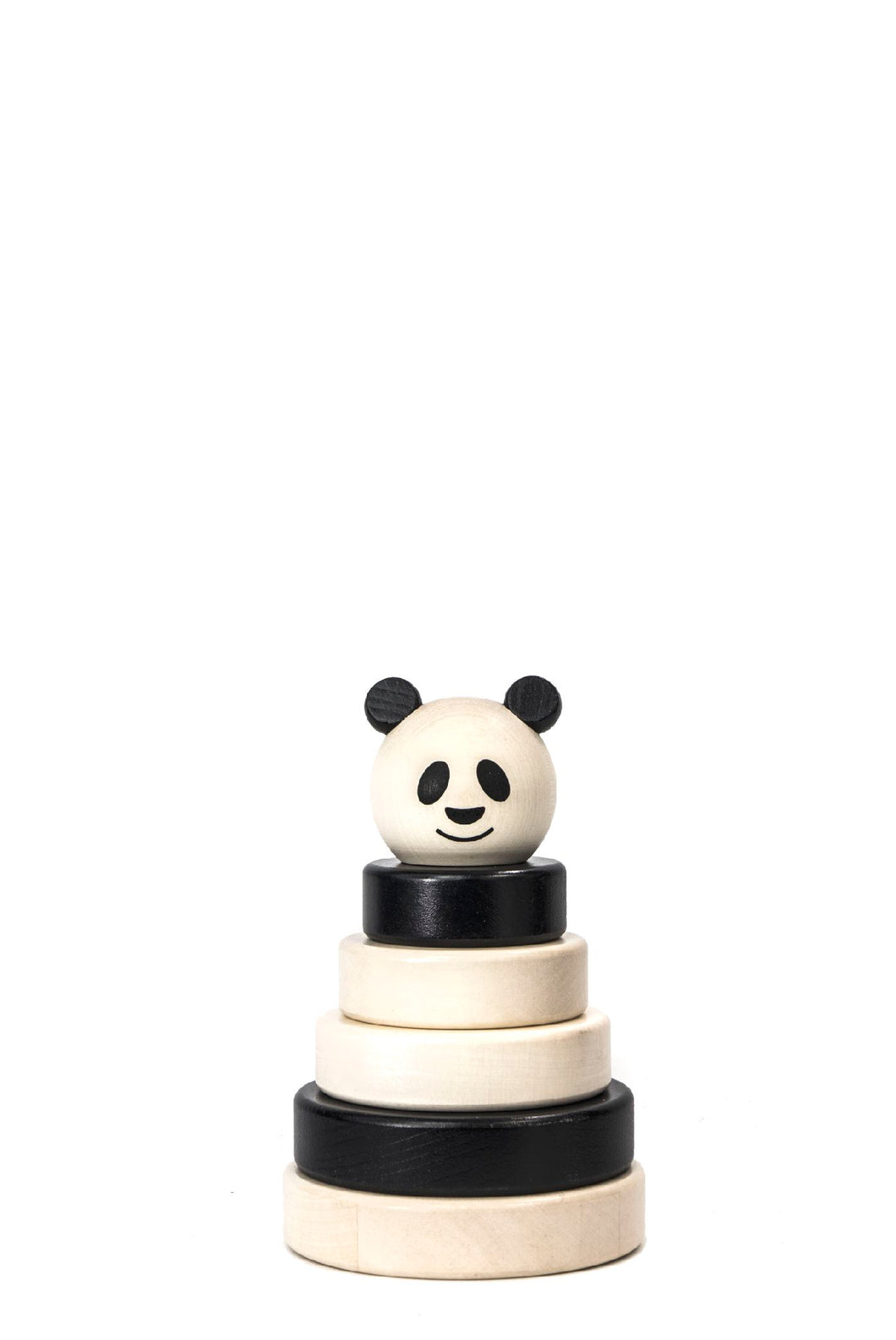 Wooden Panda Stacker
