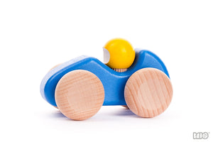 Wooden Small Racing Car